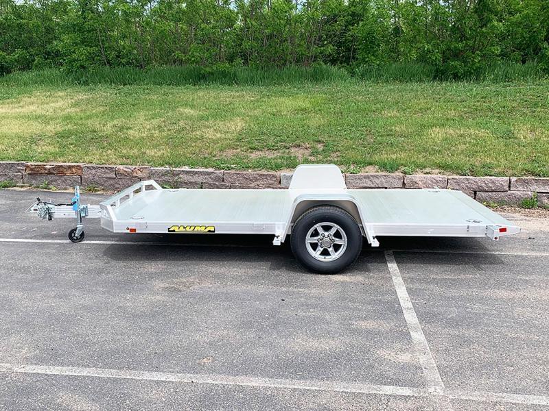 Aluma 8214H Aluminum Tilt Bed Trailer - 5,200# GVWR!