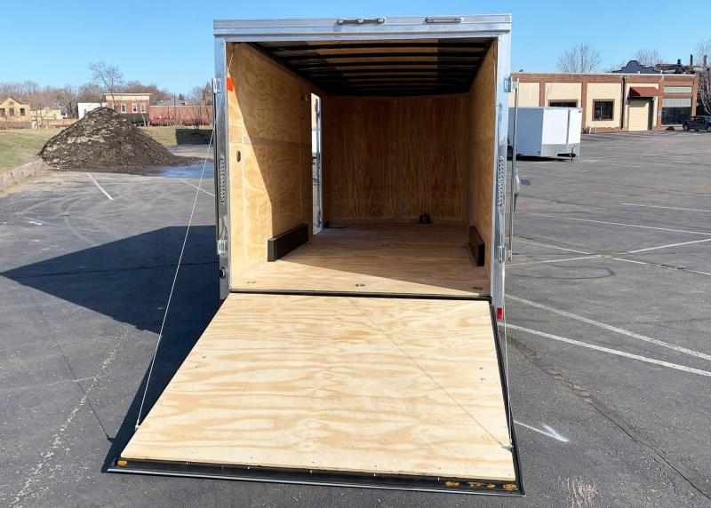 Continental 7.5x18 Enclosed Trailer - 7' Int. - Rear Ramp!
