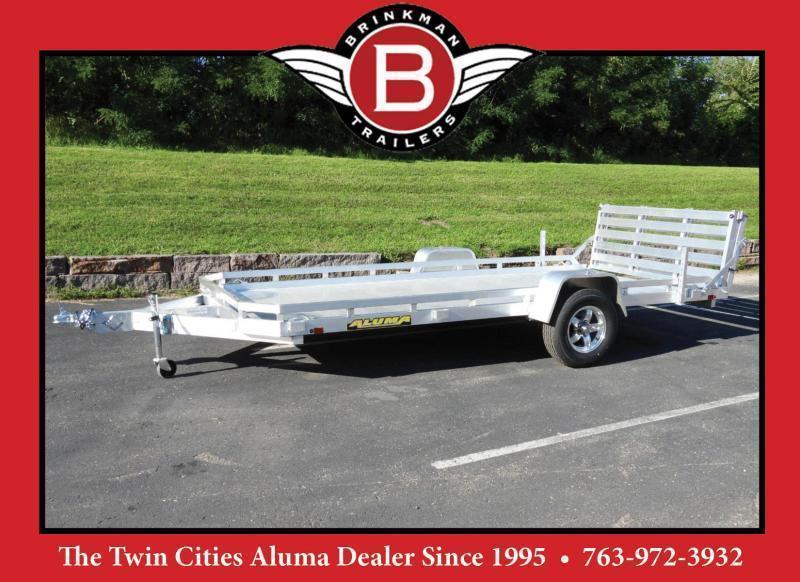 Aluma 7814S BT Aluminum Utility Trailer - 3500# Axle - ATV/UTV