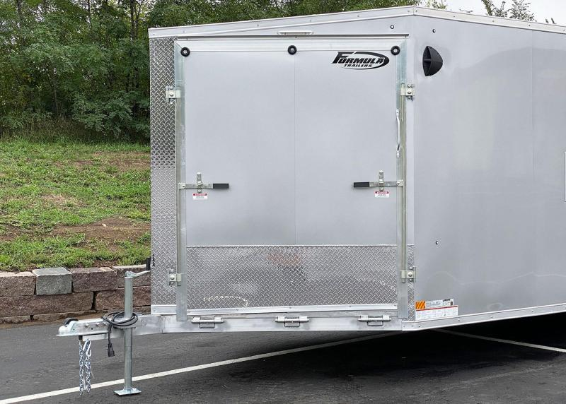 Deluxe Aluminum Formula Trailpro UTV/Snowmobile Trailer!
