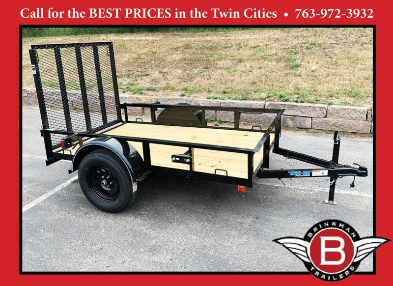 Top Quality Top Hat 60x8 Utility Trailer - Rear Ramp!