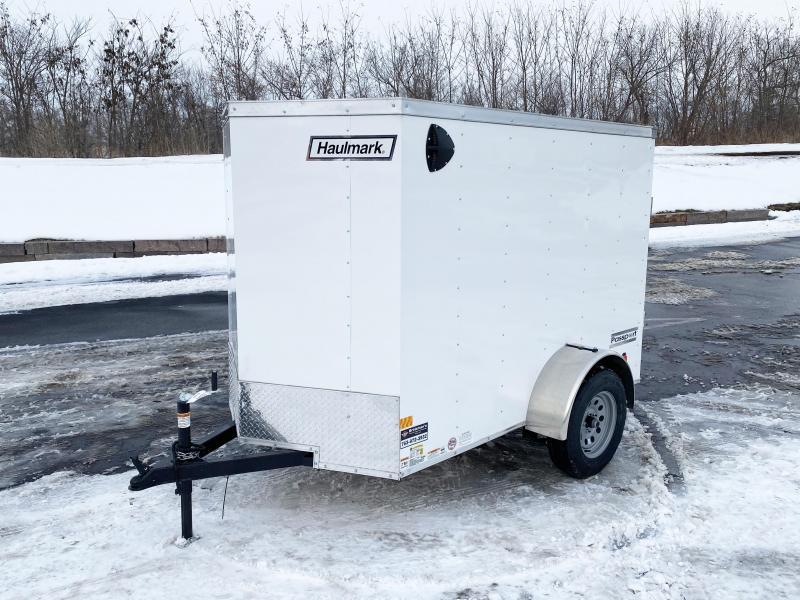 Haulmark 5x8 V-Nose Enclosed Trailer - 3500# Axle - SPECIAL