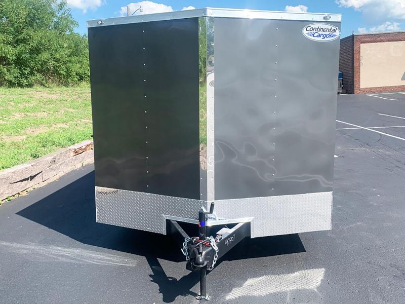 "Continental 8.5x16 Enclosed Cargo Trailer - 6'6"" Int. - Rear Ramp!"