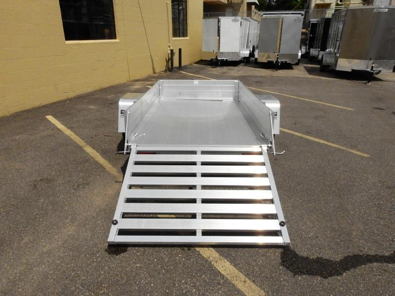 "Aluma 548 -  54""x8' Aluminum Utility Trailer w/ 12"" Sides Included!"