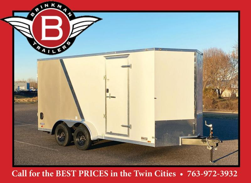 Deluxe Continental 7x16 Enclosed Trailer - 7' Interior - UTV!