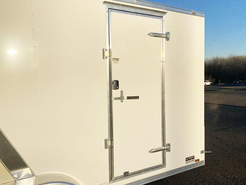 Deluxe Continental 7x16 Enclosed Trailer - 7' Interior - UTV!