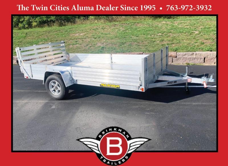 Aluma 8112SR-BT Aluminum ATV/UTV Trailer - Side Loading Ramps!