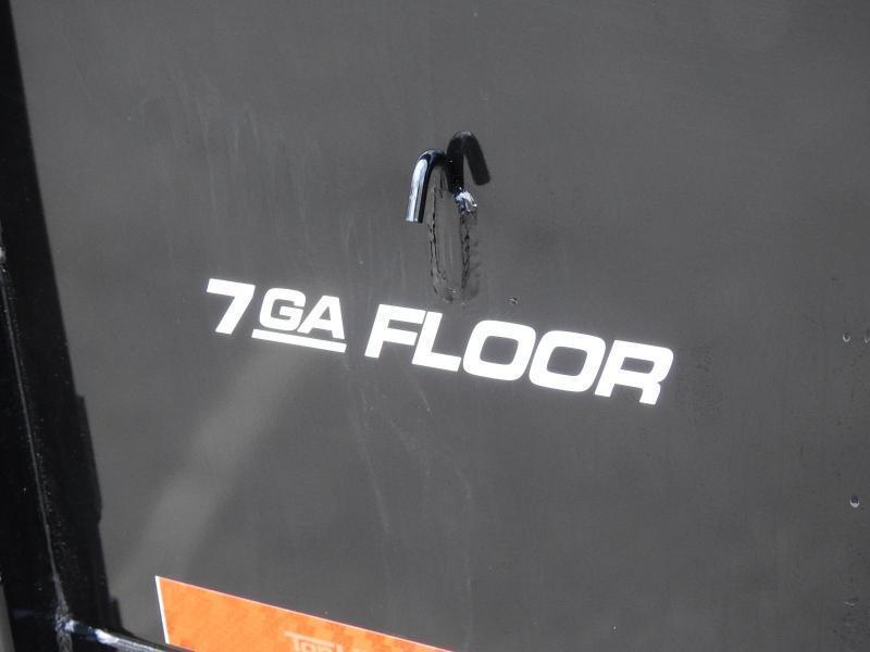 Top Hat 7 x 16 Dump Trailer 14000# GVWR w/ Scissor Lift/ Tarp System!