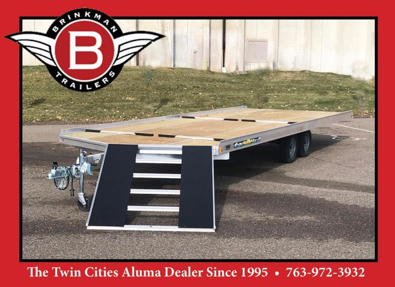 Aluma 8624/13 8.5x24 4-Place Aluminum Snowmobile Trailer