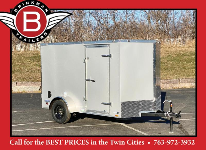 Continental Cargo 6 x 10 Enclosed Cargo Trailer w/Ramp Door -VALUE