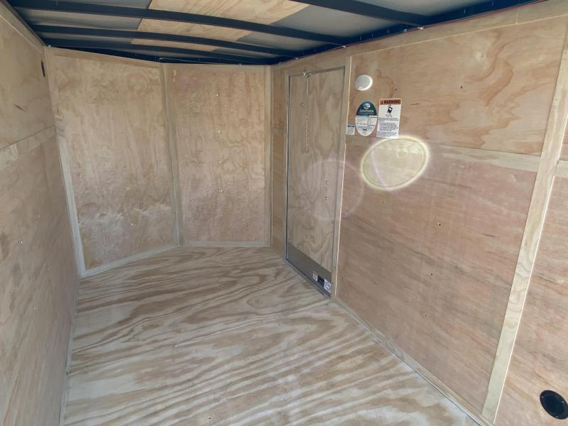 Continental Cargo 6 x 10 Enclosed Cargo Trailer w/Ramp Door -VALUE