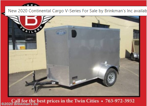 2020 Continental Cargo V-Series 5x8