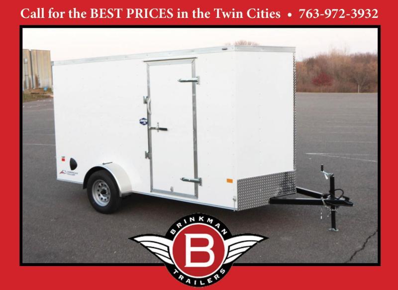 American Hauler 6x12 Cargo Enclosed Trailer -DBL Doors - Quality!