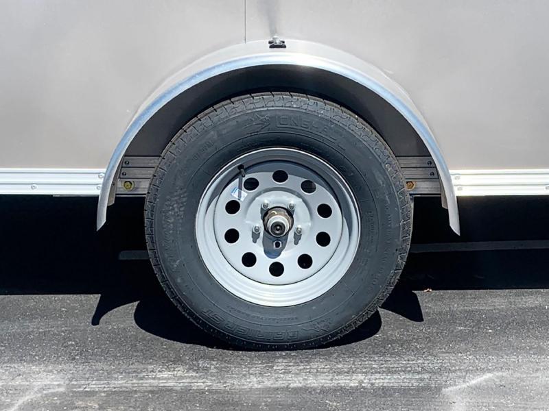 Premium High Country 6x12 Aluminum Enclosed Cargo Trailer - DBL Rear Doors!