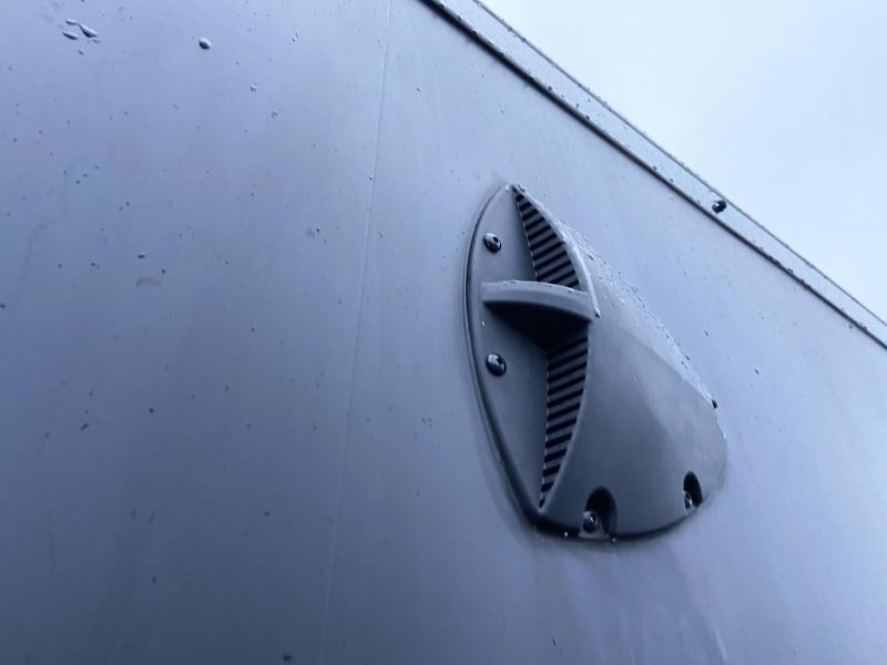 Formula 7x19 (14'+5'V) Aluminum Enclosed Snowmobile Trailer - 7' Int.