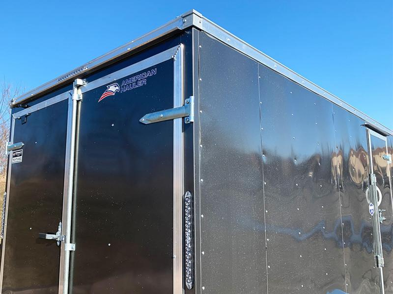 "American Hauler 7x14 Enclosed Cargo Trailer - DBL Doors - 6'6"" Interior"
