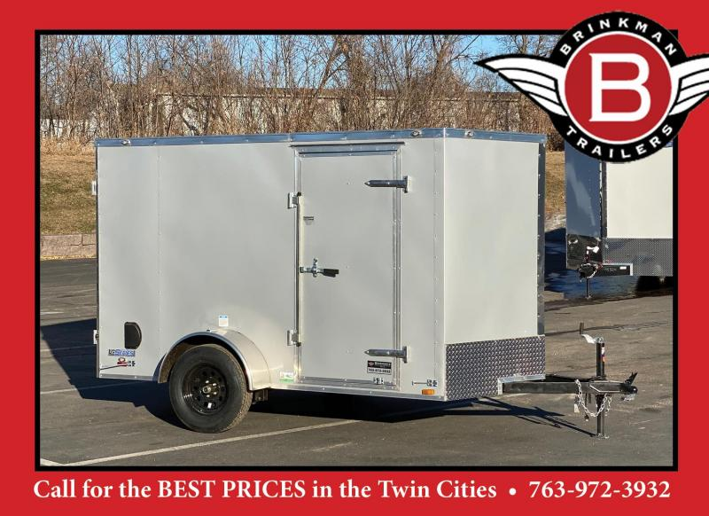 Continental Cargo 6x10 Enclosed Cargo Trailer w/ DBL Rear Doors