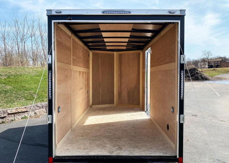 American Hauler 6x12 Enclosed Trailer - Rear Ramp!