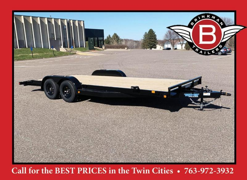 Top Quality Top Hat 83x20 Car/Equipment Hauler - Tuck Under Ramps - 7,000# GVWR!