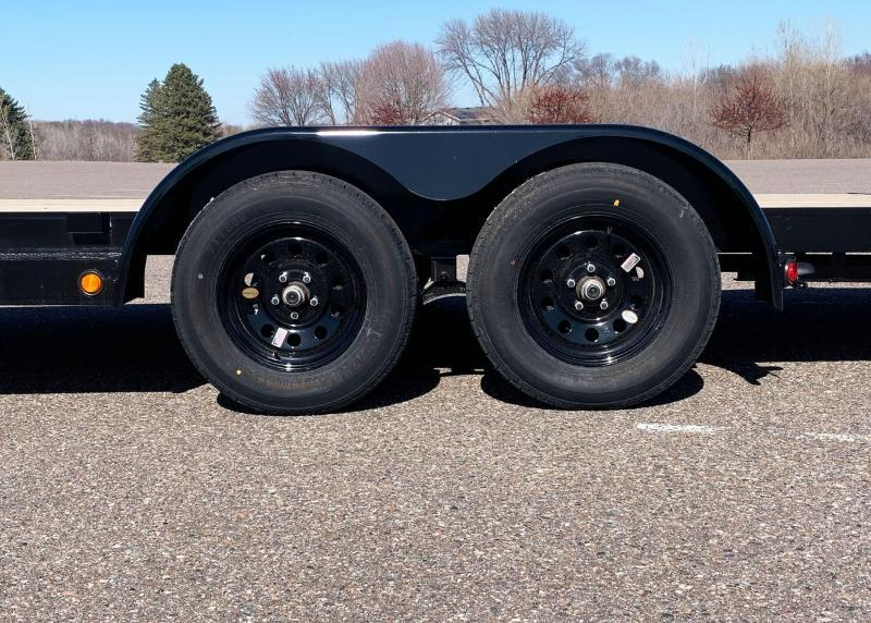 Top Quality Top Hat 83x20 Car/Equipment Hauler - Tuck Under Ramps - 7,000# GVWR!