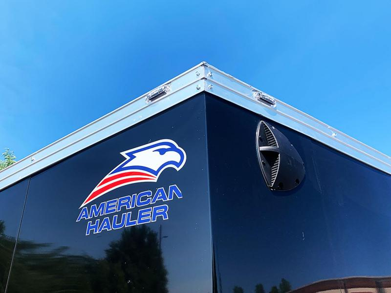 Deluxe American Hauler 8.5x20 Enclosed Car Trailer - 7' Int. - 9990# GVWR!