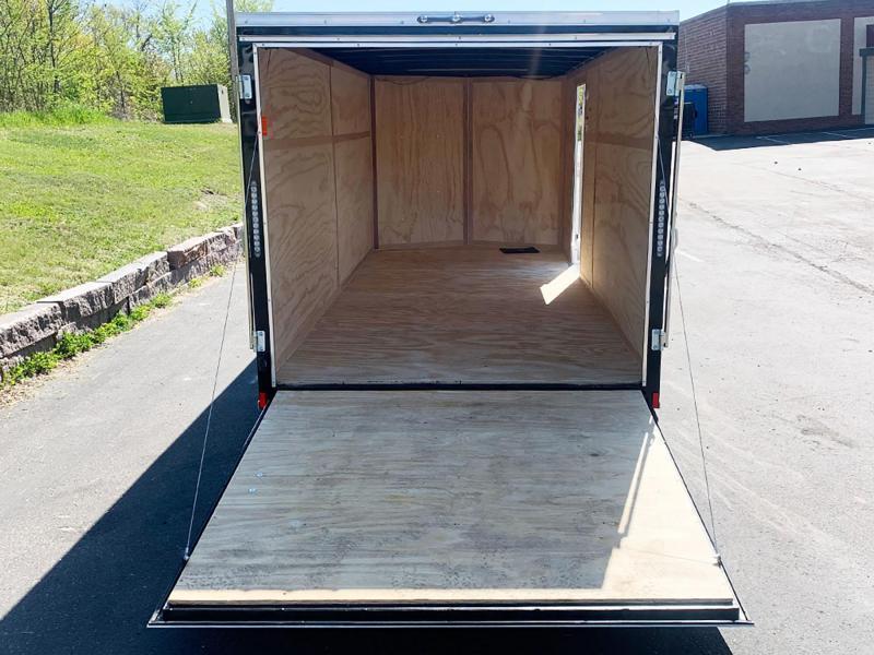 Continental Cargo 7x16 Enclosed Trailer - Rear Ramp!