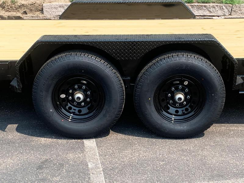Heavy Duty Top Hat 83x20 Bobcat/Equipment Trailer - 14000# GVWR!
