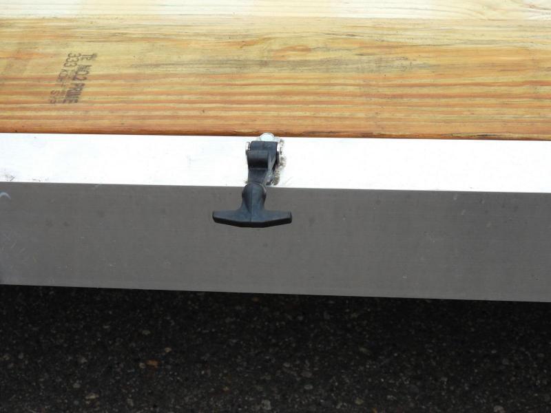 """Trophy 7x14 Aluminum ATV/UTV Utility Trailer - 58"""" Side Loading Ramps!"""