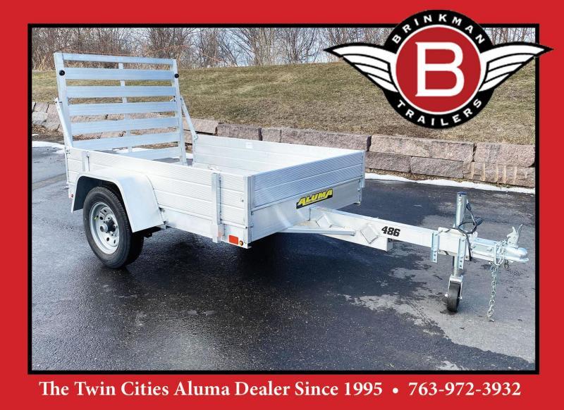 """Aluma 486 Aluminum Utility Trailer w/12"""" Sides Included!"""