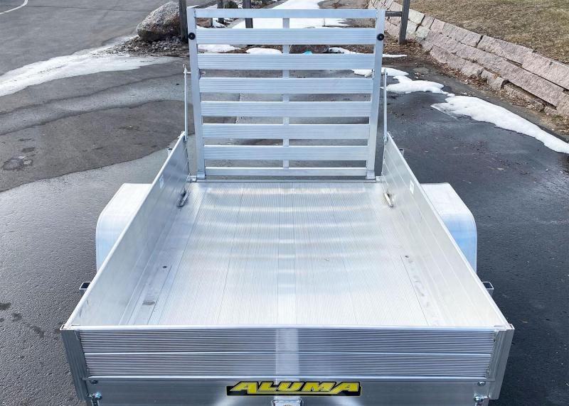 "Aluma 486 (48"" x 6') Aluminum Utility Trailer w/12"" Sides Included!"