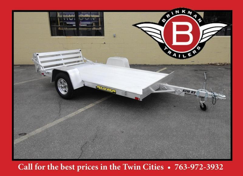 Aluma 6310 Open Utility Trailer w/ Bi-Fold Gate - All Purpose!