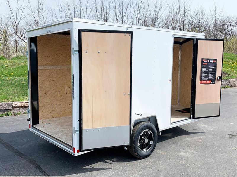 American Hauler 7x12 Enclosed Trailer - Dbl Rear Doors!