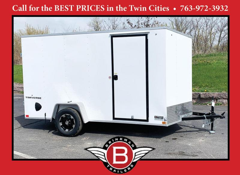 American Hauler 7x12 Enclosed Trailer - Dbl Rear Doors!