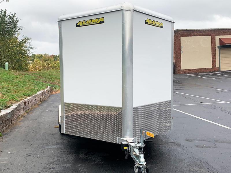 Aluma 7.5x14 Aluminum Enclosed UTV Trailer - 7' Int. - Rear Ramp!
