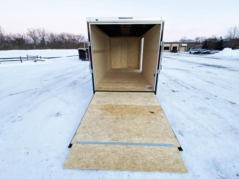 Premium Haulmark 7x16 Enclosed Cargo Trailer - 10K GVWR - 7' Interior