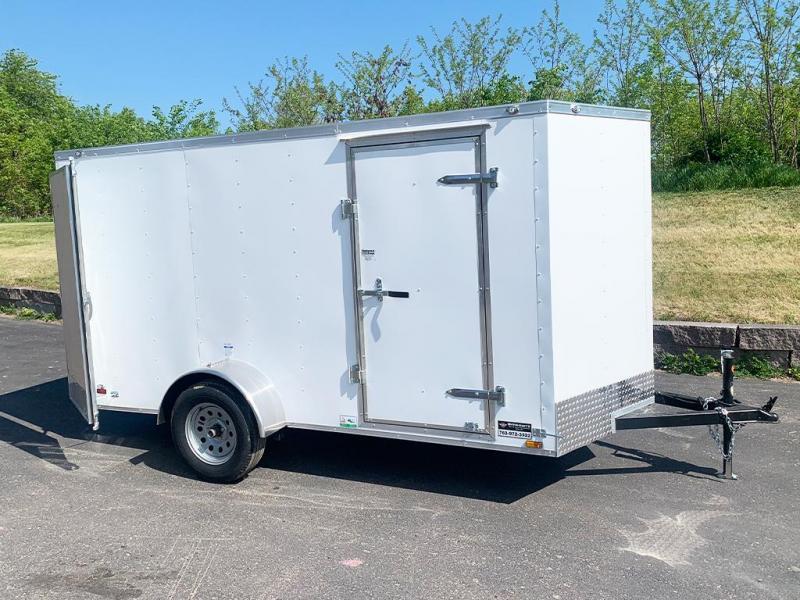 Continental Cargo 6x12 Enclosed Trailer - DBL Rear Doors!