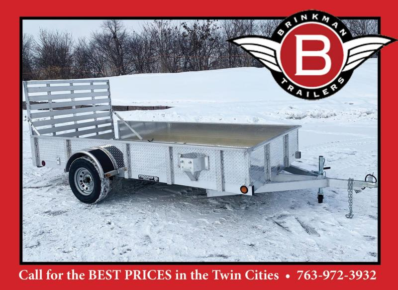 Trophy 6.5 x 12 Aluminum Torsion Utility Trailer