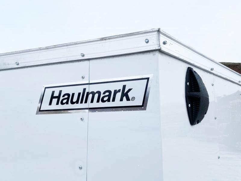 Haulmark 5 x 8 V-Nose Enclosed Trailer - Deluxe Model- Fantastic Buy!