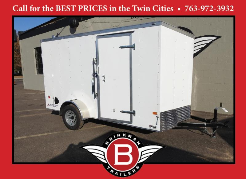 2021 American Hauler 6x12 Enclosed Cargo Trailer with Double Doors