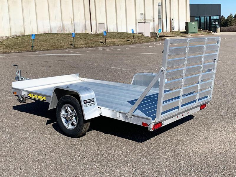 Aluma 7210H Aluminum Trailer - Full Ramp!
