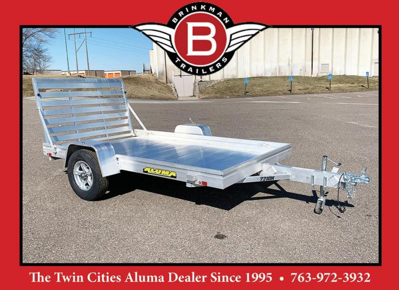 Aluma 7210H Aluminum Trailer - Full Ramp!