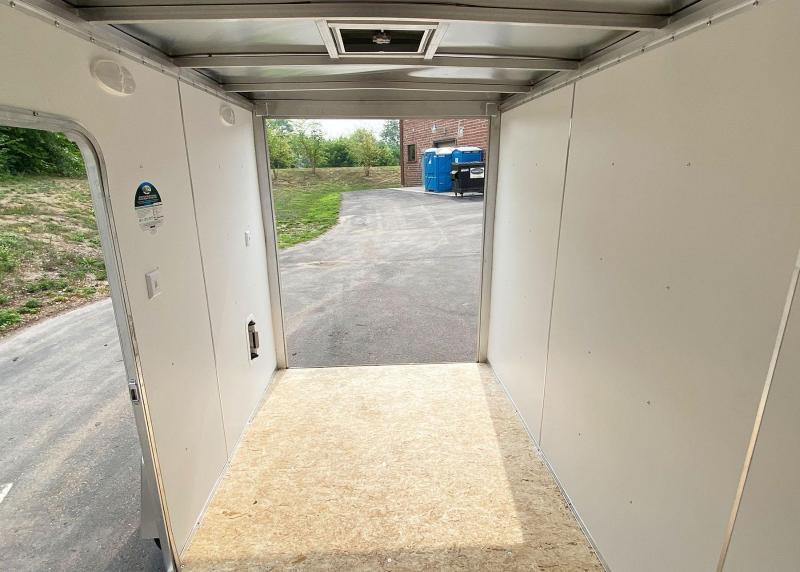 "Lightning 6x10 Enclosed Aluminum Cargo Trailer - 6'9"" Int. - Double Doors!"