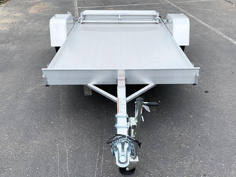 Aluma 6310S-BT Open Utility Trailer - Bi-Fold Ramp - All Purpose!