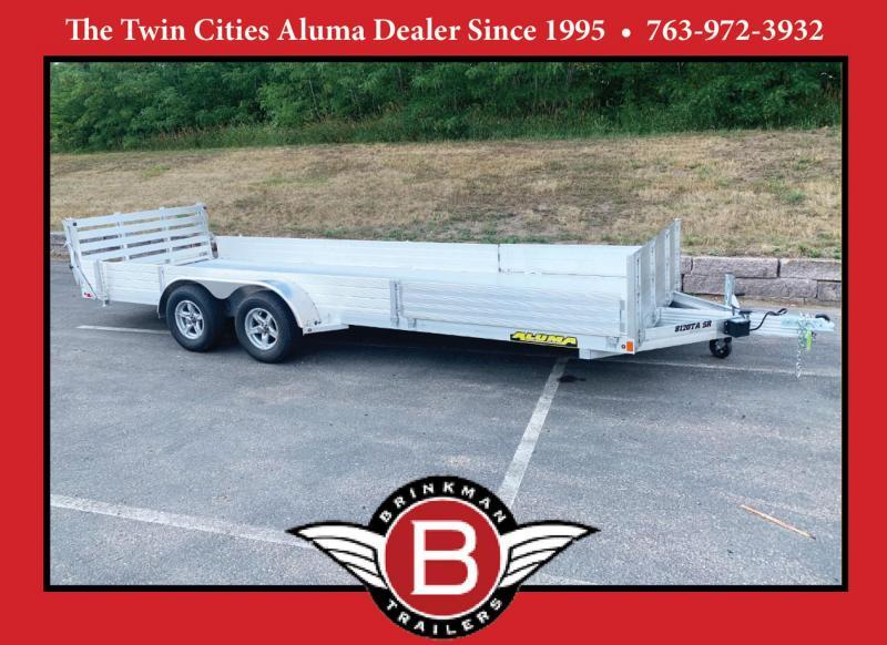 Aluma 8120SR Aluminum ATV/UTV Equipment Trailer - 7,000# GVWR!