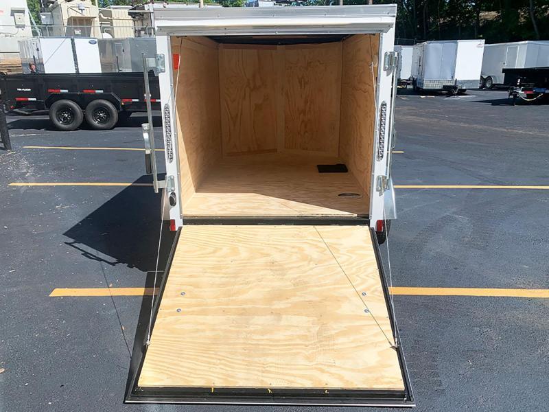 Continental Cargo 5x8 Enclosed Trailer - Rear Ramp!