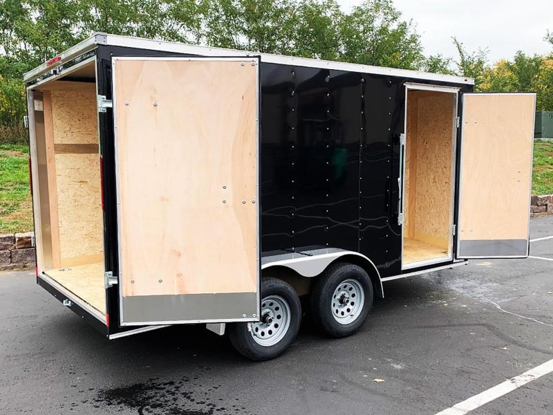 """Haulmark 7x14 Tandem Enclosed Trailer - 6'6"""" - Dbl Rear Doors!"""