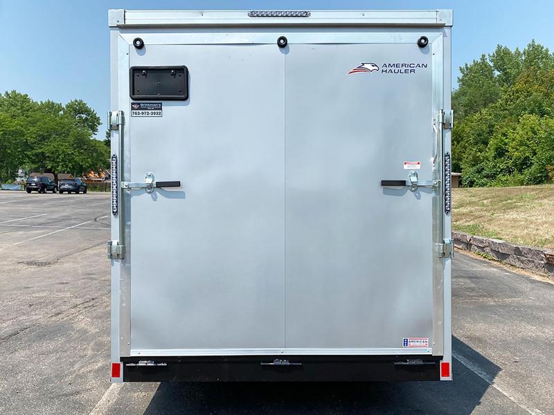 Deluxe American Hauler 7x16 Enclosed UTV Trailer - 7' Int. - 9900# GVWR!