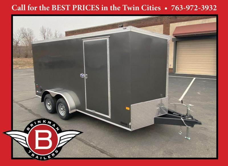 American Hauler 7x16 Enclosed Cargo Trailer - 7' Int. - 10K GVWR