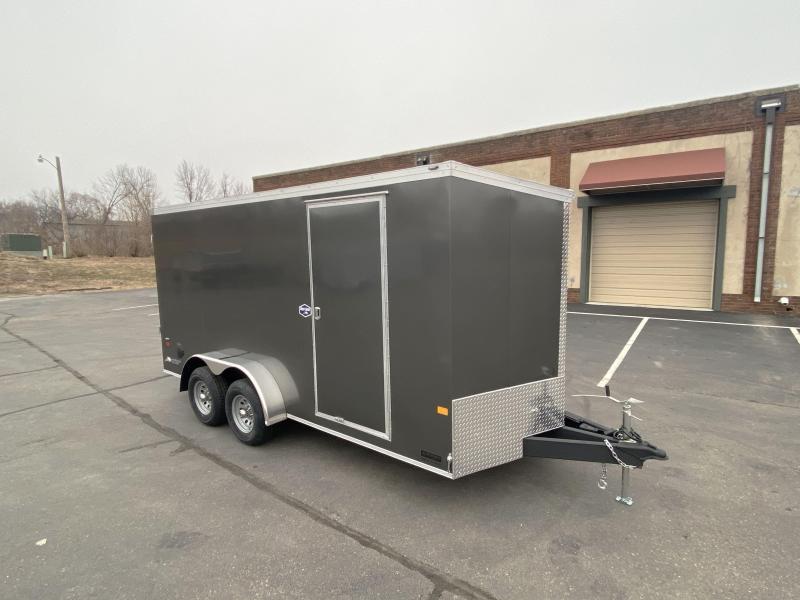 American Hauler 7x16 Enclosed Cargo Trailer - 7' Int. - 10K GVWR