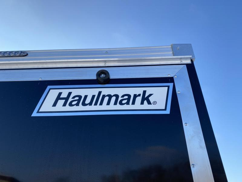 "Deluxe Haulmark 7x16 Enclosed Cargo Trailer - 7'6"" Interior - UTV"